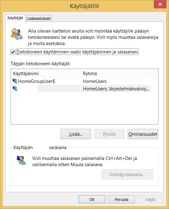 how to automatically login to win 10